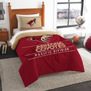 Arizona Coyotes Draft Twin Comforter Set by Northwest