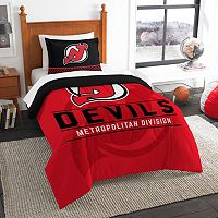 New Jersey Devils Draft Twin Comforter Set by Northwest