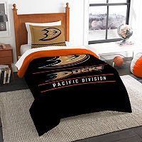 Anaheim Ducks Draft Twin Comforter Set by Northwest