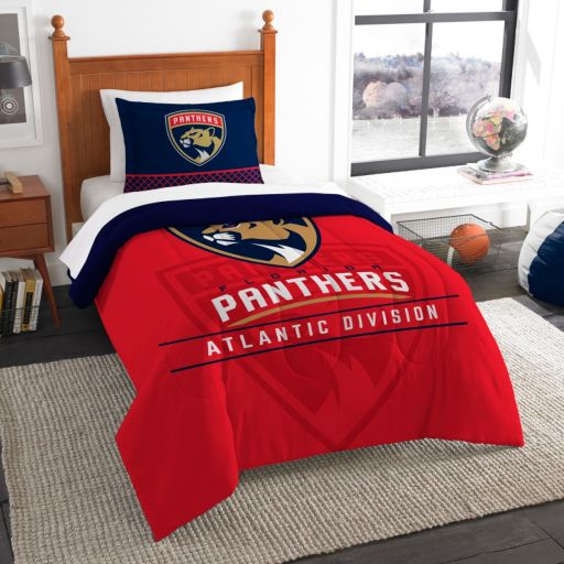 Florida Panthers Draft Twin Comforter Set by Northwest