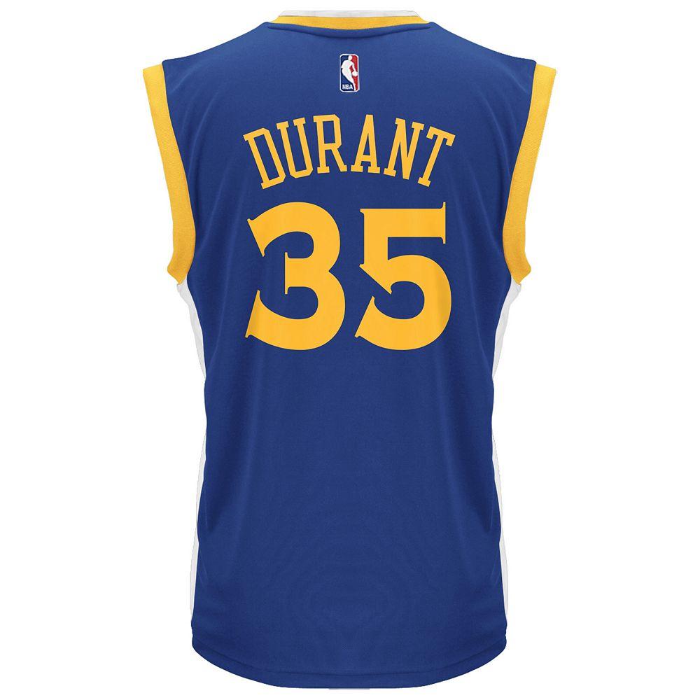 Men s adidas Golden State Warriors Kevin Durant NBA Replica Jersey af892e9fa
