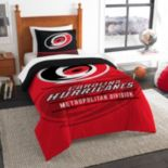 Carolina Hurricanes Draft Twin Comforter Set by Northwest