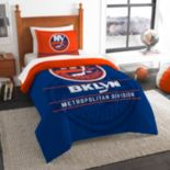 New York Islanders Draft Twin Comforter Set by Northwest