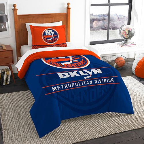 New York Islanders Draft Twin Comforter Set by Northwest