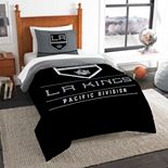Los Angeles Kings Draft Twin Comforter Set by The Northwest