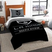 Los Angeles Kings Draft Twin Comforter Set by Northwest