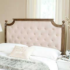 Safavieh Rustic Wood Tufted Headboard