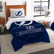 Tampa Bay Lightning Draft Twin Comforter Set by Northwest