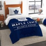 Toronto Maple Leafs Draft Twin Comforter Set by Northwest