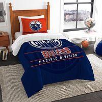Edmonton Oilers Draft Twin Comforter Set by Northwest