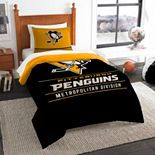 Pittsburgh Penguins Draft Twin Comforter Set by The Northwest