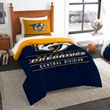Nashville Predators Draft Twin Comforter Set by The Northwest