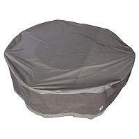 Duck Covers Elegant 76-in. Round Patio Table & Chairs Cover