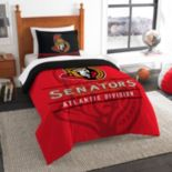 Ottawa Senators Draft Twin Comforter Set by Northwest