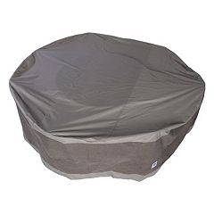 Duck Covers Elegant 108 in Round Patio Table & Chairs Cover