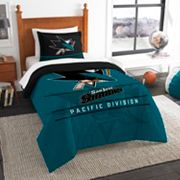 San Jose Sharks Draft Twin Comforter Set by Northwest