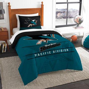 San Jose Sharks Draft Twin Comforter Set by Northwest