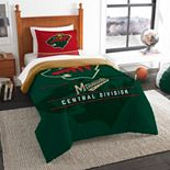 Minnesota Wild Draft Twin Comforter Set by The Northwest
