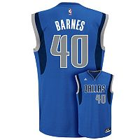 Men's adidas Dallas Mavericks Harrison Barnes NBA Replica Jersey