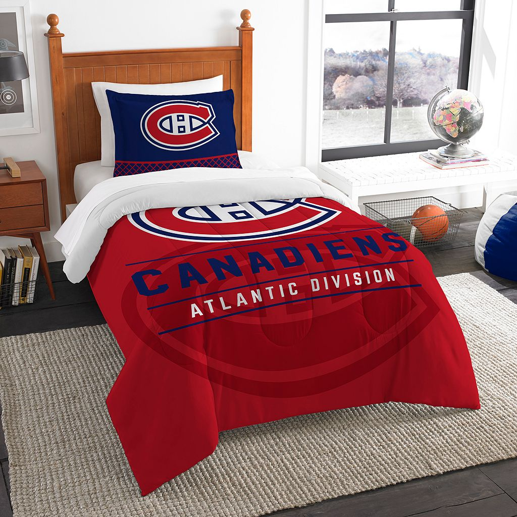 Montreal Canadiens Draft Twin Comforter Set by Northwest