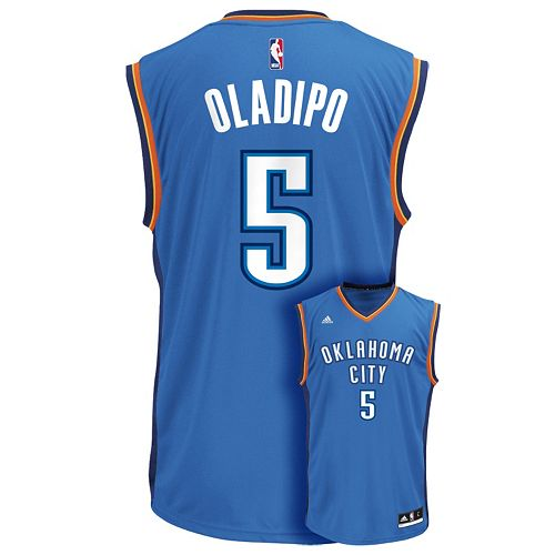 Men's adidas Oklahoma City Thunder Victor Oladipo NBA Replica Jersey