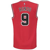 Men's adidas Chicago Bulls Rajon Rondo NBA Replica Jersey