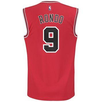 Men's adidas Chicago Bulls Rajon Rondo NBA Replica Jersey