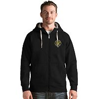 Men's Antigua Columbus Crew Victory Full-Zip Hoodie