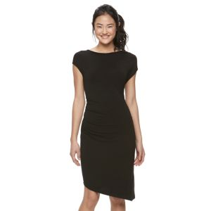 Juniors' Jolie Vie Ruched Shift Dress
