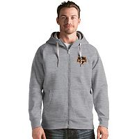 Men's Antigua Houston Dynamo Victory Full-Zip Hoodie