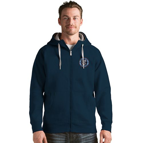 Men's Antigua New York City FC Victory Full-Zip Hoodie