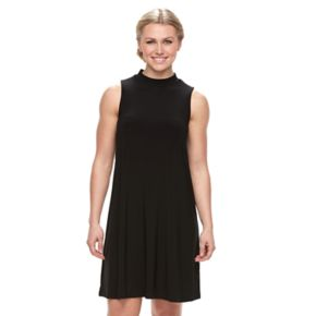 Women's Tiana B Mockneck A-Line Dress