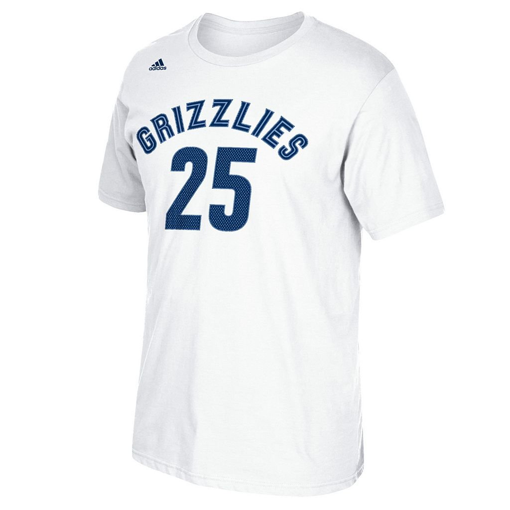 Men's adidas Memphis Grizzlies Chandler Parsons Player Tee