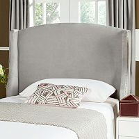 Safavieh Austin Velvet Winged Headboard