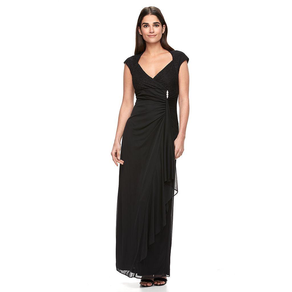 Women's Onyx Nite Cascade Evening Gown