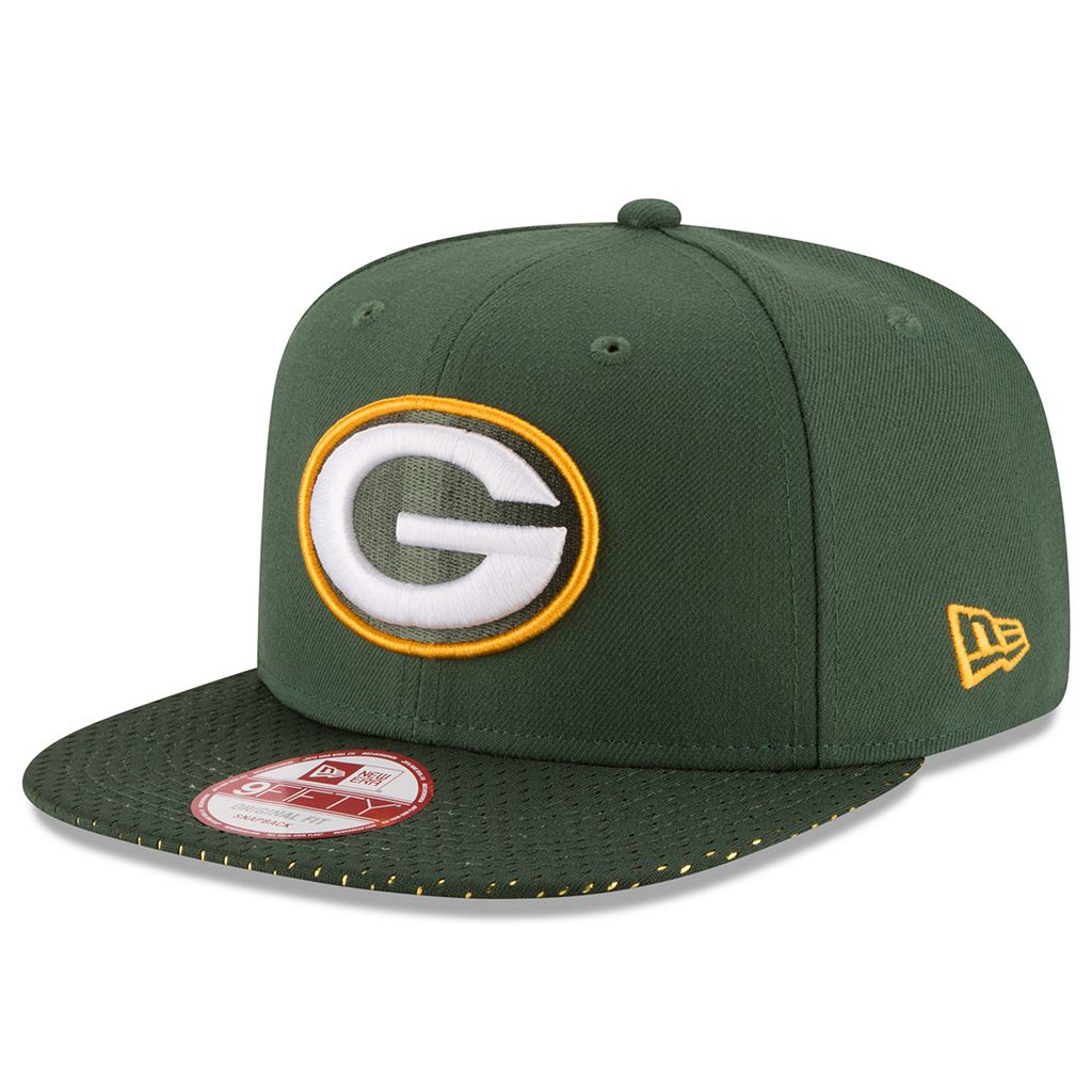 Adult New Era Green Bay Packers 9FIFTY Shine Through Snapback Cap