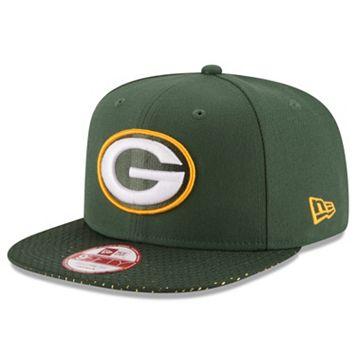 Adult New Era Green Bay Packers 9FIFTY Shine Through Snapback Cap