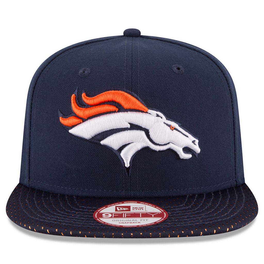 Adult New Era Denver Broncos 9FIFTY Shine Through Snapback Cap