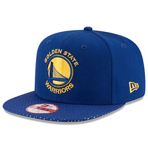 Adult New Era Golden State Warriors 9FIFTY Shine Through Snapback Cap