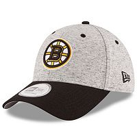 Adult New Era Boston Bruins Rogue 9FORTY Snapback Cap