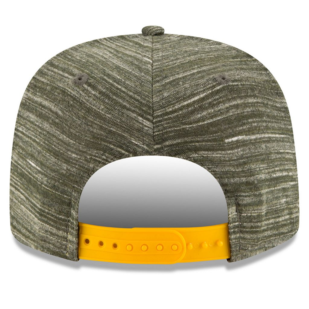 Adult New Era Green Bay Packers Solid A-Frame 9FIFTY Snapback Cap