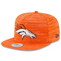 Adult New Era Denver Broncos Solid A-Frame 9FIFTY Snapback Cap