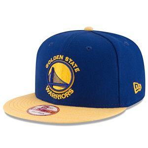Adult New Era Golden State Warriors Solid A-Frame 9FIFTY Snapback Cap