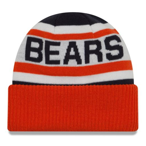 Adult New Era Chicago Bears Biggest Fan 2.0 Knit Hat