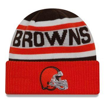 Adult New Era Cleveland Browns Biggest Fan 2.0 Knit Hat