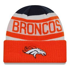 Adult New Era Denver Broncos Biggest Fan 2.0 Knit Hat
