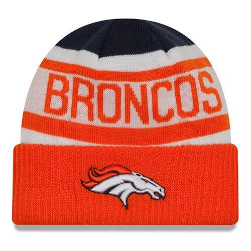 Adult New Era Denver Broncos Biggest Fan 2.0 Knit Hat