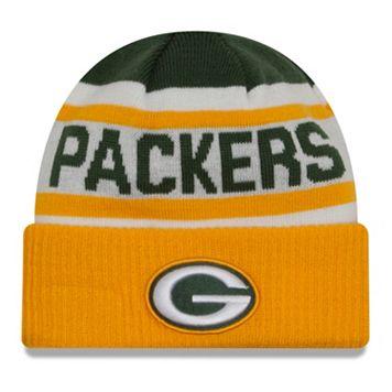 Adult New Era Green Bay Packers Biggest Fan 2.0 Knit Hat
