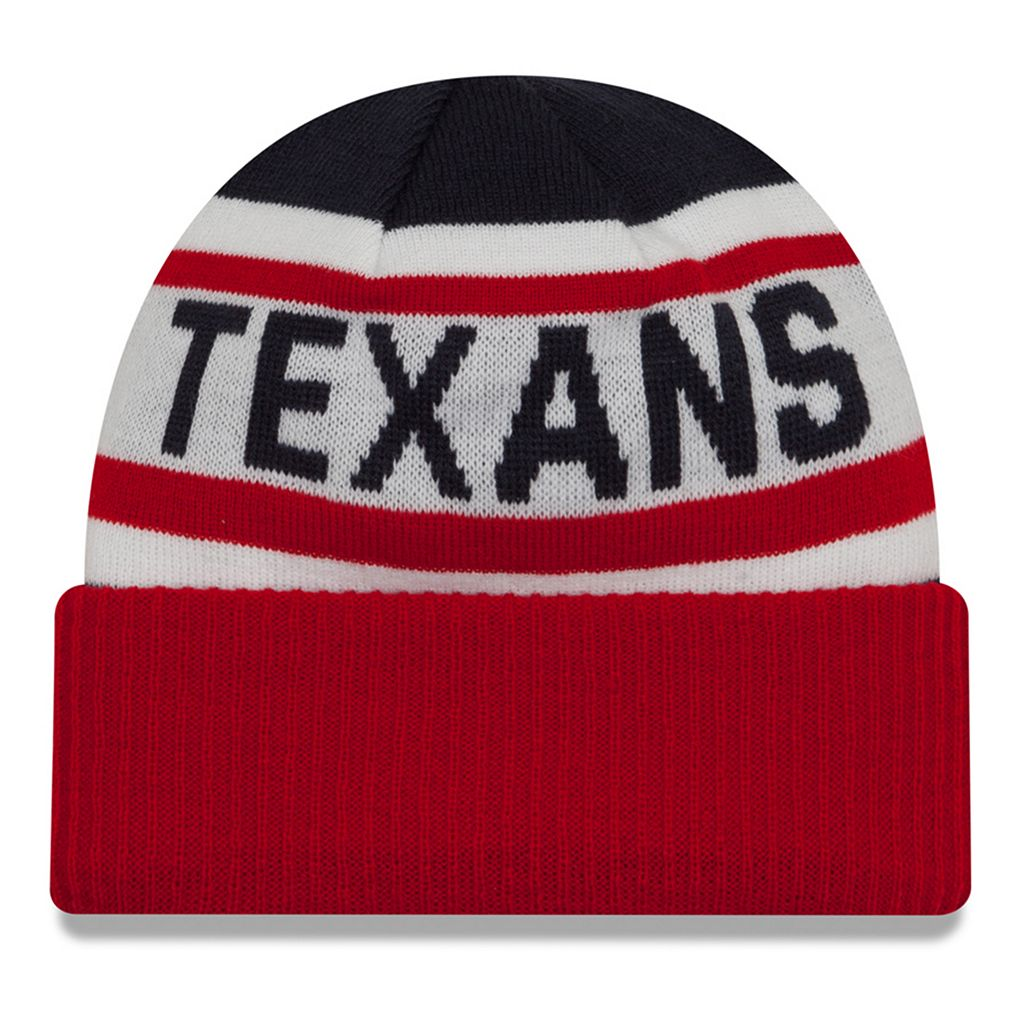 Adult New Era Houston Texans Biggest Fan 2.0 Knit Hat