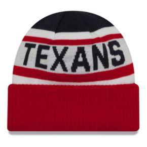 Adult New Era Houston Texans Biggest Fan 2.0 Knit Hat